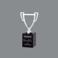 China Custom high quality new creative design trophy metal cup award champion trophies