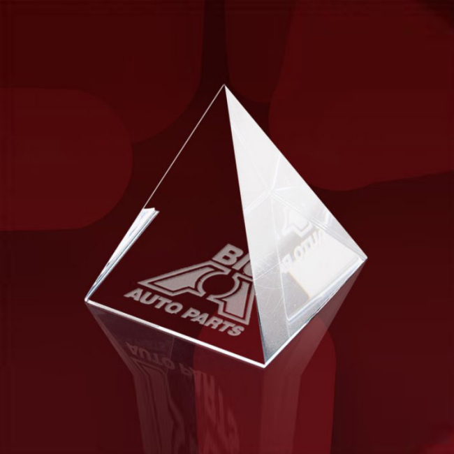 Promotion Crystal Crafts Ice Mountain Crystal Ice Sculpture For Display Official Awards