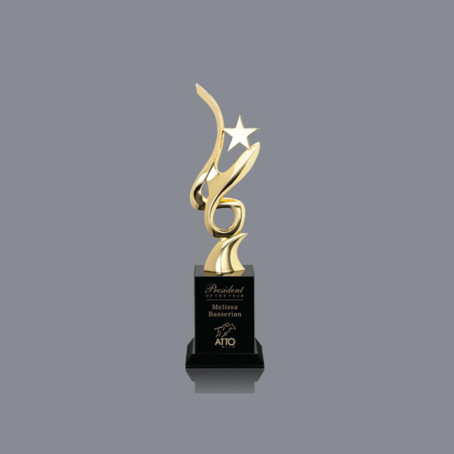 china high quality new design whosale Custom Metal Award Trophy Cup Crystal Trophy