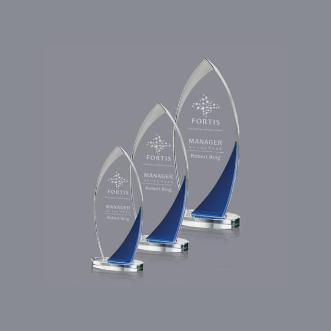 high quality clear acrylic blank glass award acrylic gift crystal award trophy