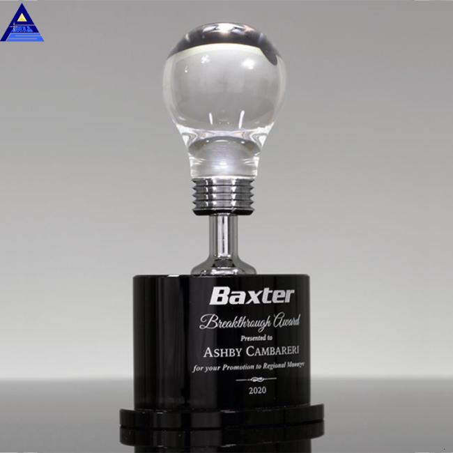 Custom Crystal Microphone Awards Blank Music Award