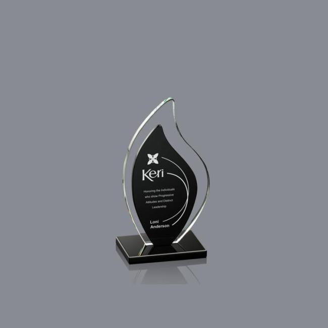 Crystal Plaque Award Blaze Trophy For Glass Celebration Decoration crystal trophy