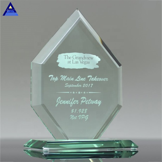 Wholesale Cheap Price Custom Design Blank Plaque Jade Awards