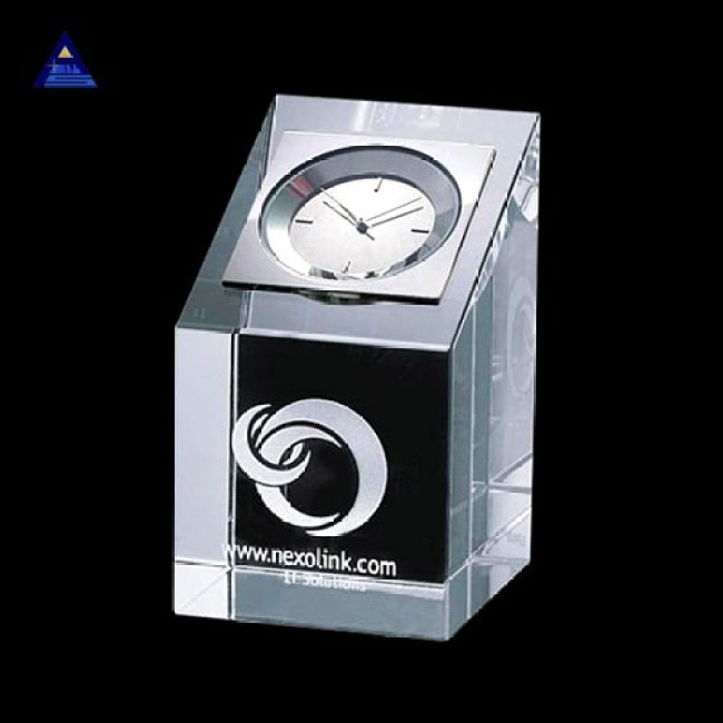 Newest waterford crystal clock- -NO.1 Crystal Trophy Factory