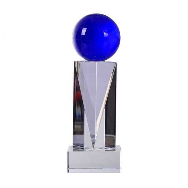Custom Design Wholesale Special Professional Laser Sport Crystal Trophy For Wholesales