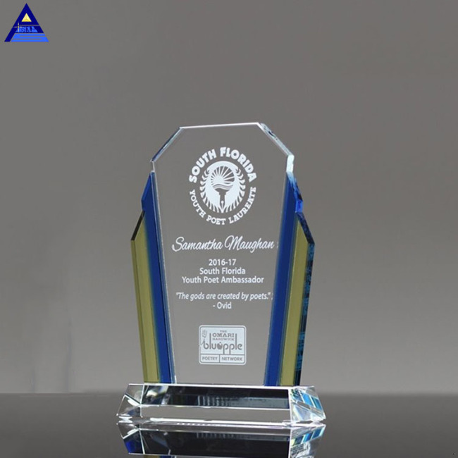 Personalized Fashion Cheap Customized Sublimation Crystal Award Plaque