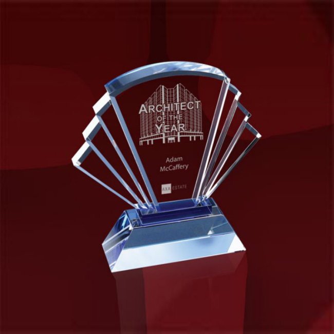 High Quality Cheap Custom cheap diamond 3D Crystal laser engraving Crystal K9 crystal trophy