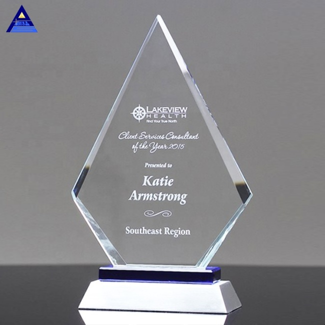Engraved Wedding Door Gift Clear Engraved Crystal Diamond Paperweight