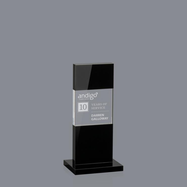 China Wholesale OEM Service anniversary gifts corporate gift crystal award trophy with color printing