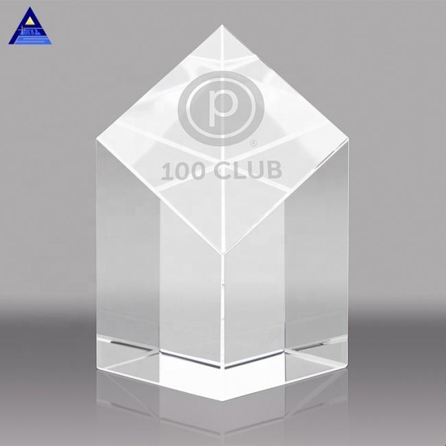 Beautiful 3D Laser Crystal Trophy & Crystal Award,3D Laser Crystal
