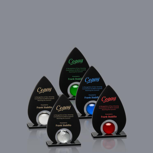 customized shape color crystal award trophy honor award crystal blank plaques trophy