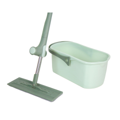 China Home Suppliers for Magic Flat Mop Bucket With Microfiber Flat Mop, Household Cleaning Tools