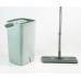 Mini Hands-free squeeze flat mop bucket
