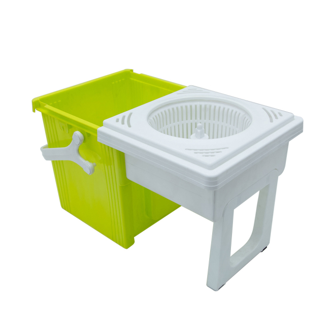 Double Mop Bucket with Wringer Microfiber Mop Refill