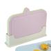 China Kitchen Utensils Wholesale Plastic Classified Chopping Board 4pc Set
