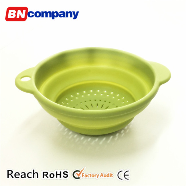 Foldable Kitchen Basket for Washing Fruit and Vegetables