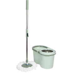 China Mop Wholesale 360 Magic Floor Cleaning Mop with Removable Wringer Basket