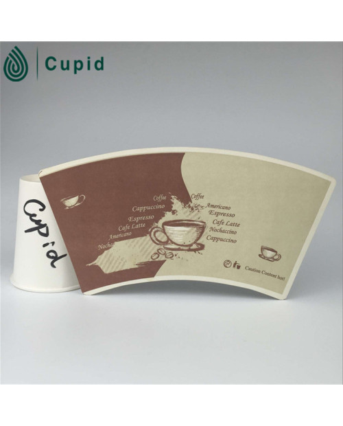 High Quality Disposable The Paper Cup Fan Factory