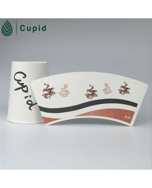 High Quality China Best Custom Printed Paper Cup Fans