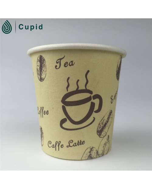 customized printed hot coffee disposable paper cup