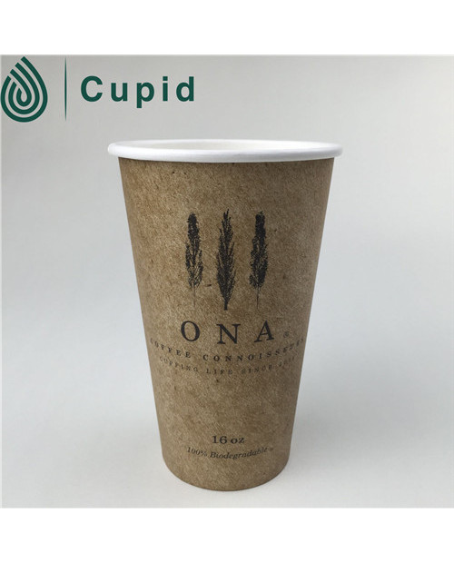 eco friendly paper coffee cup with lids