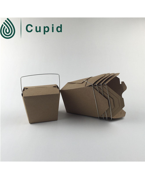 Hot sale Brown kraft pail box / Noodle box
