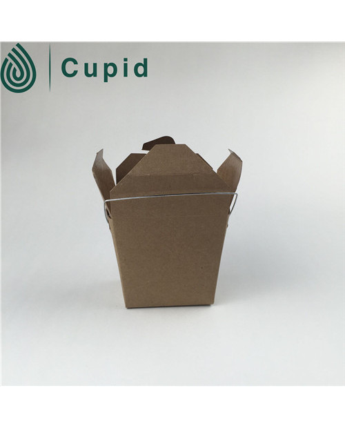 2016 New Design Kraft Paper Noodle Box