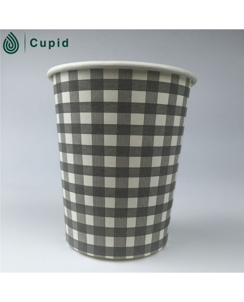 Disposable single  wall paper cup for hot drink usage