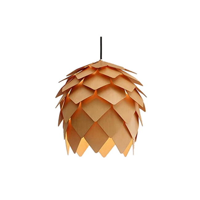 Deal apple wood decorative lighting