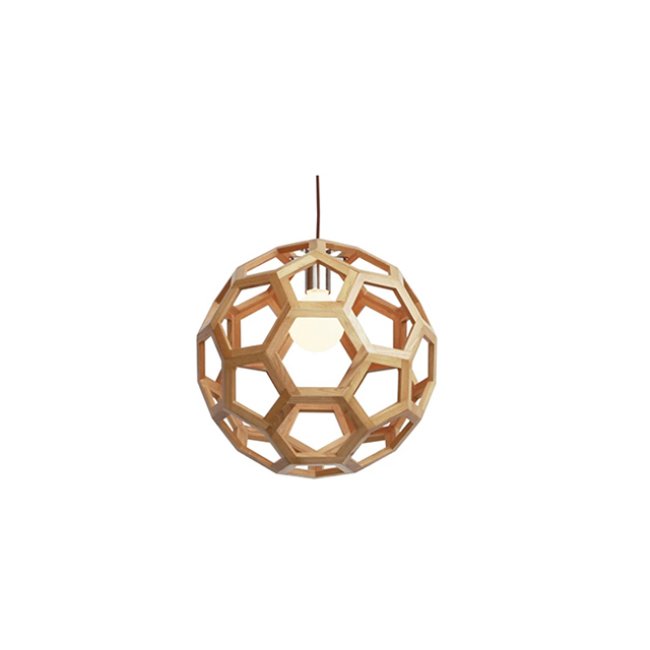 Football decorative wooden lighting